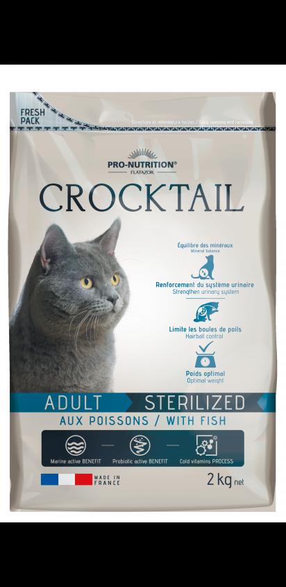 Adult Sterilized aux poissons