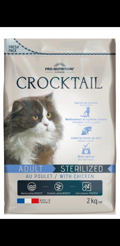 Adult Sterilized con pollo